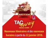 Les nouveautés du Réseau TAC au lundi 22 janvier 2018