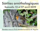 Veyrier Etrembières Balade Ornithologique