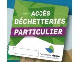 Vignette d'accès aux déchetteries de l'Agglo